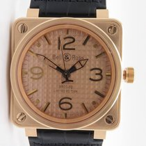 Bell & Ross Br01-92 Gold Ingot 18k Rose Gold Le 250pcs...