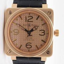 Bell & Ross Br01-92 Gold Ingot 18k Rose Gold Le 250pcs $23,900...