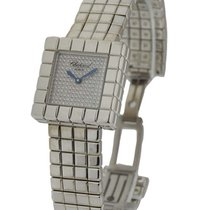 Chopard 117407-1003 Ice Cube Large Size in White Gold - on...