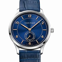 Louis Erard 1931 Manual 40 Small Second Blue