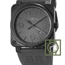 Bell & Ross Phantom Automatic Black Dial BR03-92