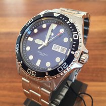 Orient Ray II 2 blue Automatic Watch Automatik Taucheruhr...
