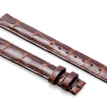Cartier Lacquered Brown-Colored Alligator Strap