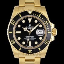 Rolex Submariner Date Yellow gold Black United States of America, California, San Mateo