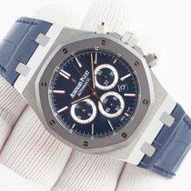 Audemars Piguet Royal Oak Chronograph Platinum 41mm Blue