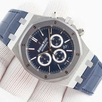 Audemars Piguet Royal Oak Chronograph Platyna 41mm Niebieski