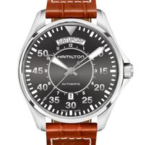 Hamilton Khaki Aviation Pilot Day Date H64615585