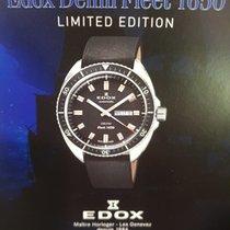 Edox 43mm Automatik gebraucht Schwarz