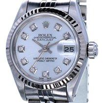 Rolex Oyster Datejust Lady Steel Diamonds 26 mm (Full Set 1986)