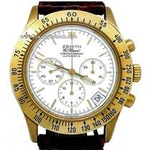 Zenith El Primero Chronograph Yellow gold 40mm White No numerals