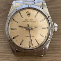 Rolex 31mm Manual winding pre-owned Oyster Precision Silver