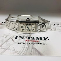 Cartier 1713 White gold Tank Américaine pre-owned