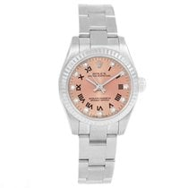 Rolex Oyster Perpetual 26 Steel 24mm Pink Roman numerals United States of America, Georgia, Atlanta