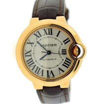 Cartier Ballon Bleu 33mm new 2015 Automatic Watch with original box and original papers W6920097