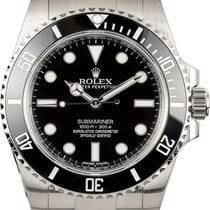 Rolex 40mm Automatic 2019 new Submariner (No Date) Black