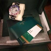 Rolex 116719BLRO Ouro branco GMT-Master II
