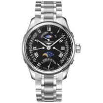Longines Master Collection Steel 41mm Black Roman numerals