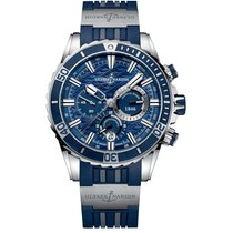 Ulysse Nardin Diver Chronograph Steel 44mm Blue No numerals United States of America, New York, New York
