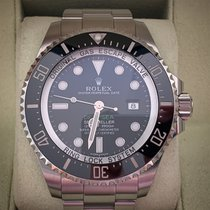 Rolex Sea-Dweller Deepsea Acier 44mm Noir Sans chiffres France, Nice