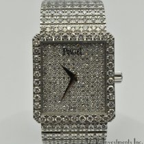 Piaget White gold 25mm Manual winding 9154 NC626 pre-owned United States of America, Texas, Houston