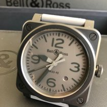Bell & Ross folosit Atomat 42mm Gri Sticlă de safir 10 ATM