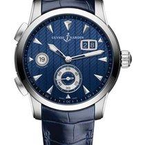 Ulysse Nardin Dual Time neu Handaufzug Uhr mit Original-Box und Original-Papieren 3343-126LE/93