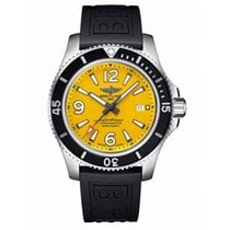 Breitling Superocean 44 Steel 44mm Yellow