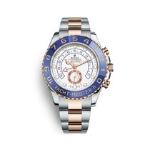 Rolex Yacht-Master II Gold/Steel 44mm White No numerals United States of America, Georgia, Alpharetta