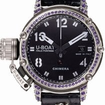 U-Boat Steel Automatic Black 43mm new Chimera