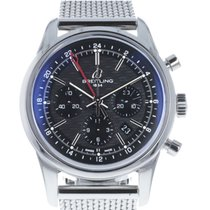 Breitling Transocean Chronograph GMT Steel 44mm