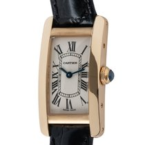 Cartier Tank Américaine 35mm Silver Roman numerals United States of America, Texas, Austin