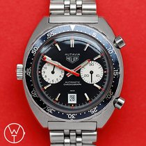 Heuer Steel 42.5mm Automatic 1163 pre-owned