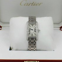 Cartier Tank Américaine White gold 19mm Champagne United States of America, California, San Diego