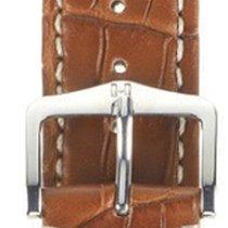 Hirsch Viscount Lederband L goldbraun 22mm 10270779-2-22