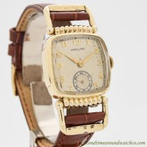 Hamilton 27mm Manual winding 1940 pre-owned Silver