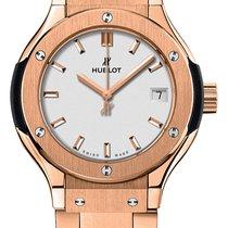 Hublot Classic Fusion Quartz Rose gold 33mm Silver United States of America, New York, Airmont