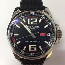 Chopard 44mm Automatic 2009 pre-owned Mille Miglia Black