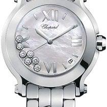 Chopard Happy Sport Round Quartz with Diamonds 36mm