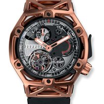 Hublot Big Bang Techframe Ferrari Tourbillon Chronograph 18K...