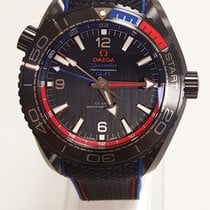 "Omega Seamaster Planet Ocean 600m ""etnz"" Deep Black 45,5 mm –..."