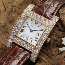 Chopard Your Hour Aur galben 36mm Alb