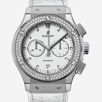 Hublot Classic Fusion Chronograph Titanium 42mm White United Kingdom, Newry