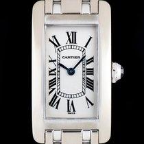 Cartier Tank Americaine White Gold W51011Q3