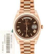 Rolex Day-Date President, Pink Gold, Ref#228235, 41mm w/ Warranty