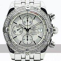 Breitling - Chronomat MoP Dial Diamond Bezel Men's Watch