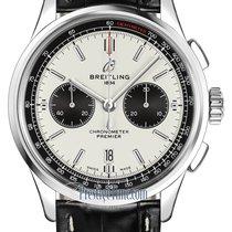 Breitling Steel 42mm Silver