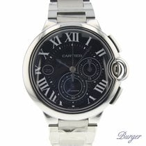Cartier new Automatic Display Back Small Seconds Quick Set Only Original Parts 44mm Steel Sapphire Glass