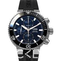 Oris Aquis Chronograph Blue
