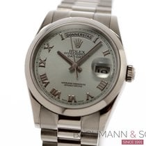Rolex Platinum 36mm Automatic 118206 pre-owned