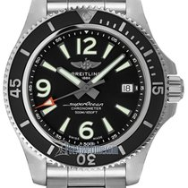 Breitling Superocean 42 Steel 42mm Black United States of America, New York, Airmont